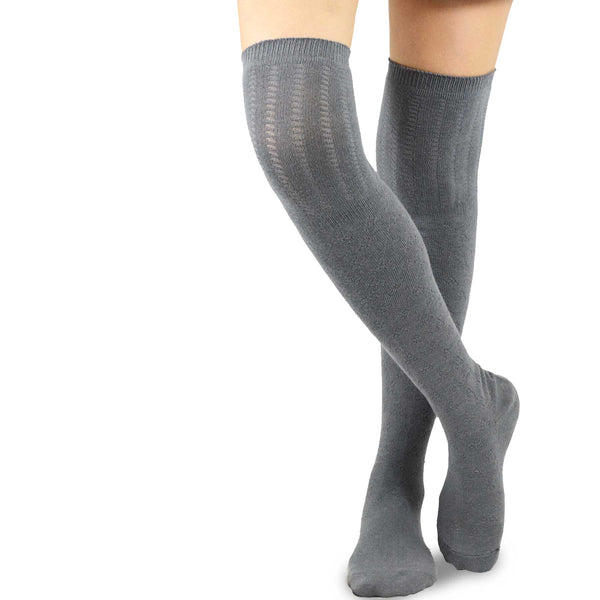 Women's Knee High Soft Top Socks 3pk