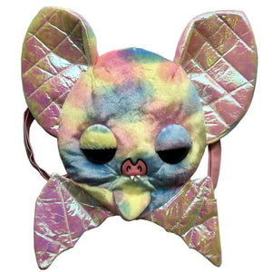 Sugarfuled Bat Rainbow Plush Backpack