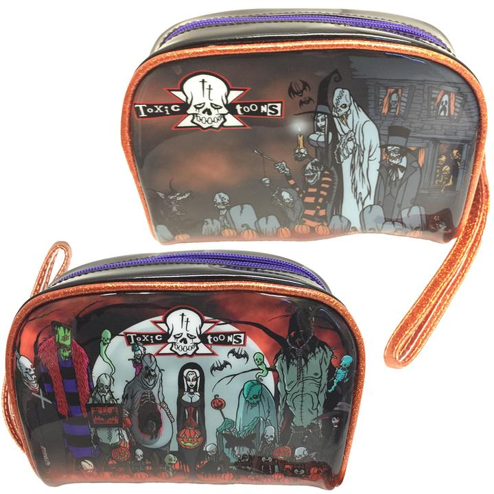 Toxic Toons Halloween Makeup Bag