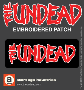 The Undead Logo Embroidered Patch