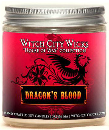 Dragon's Blood 4oz Jar Candle