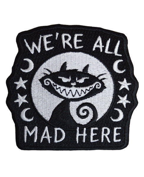 We're All Mad Here Patch