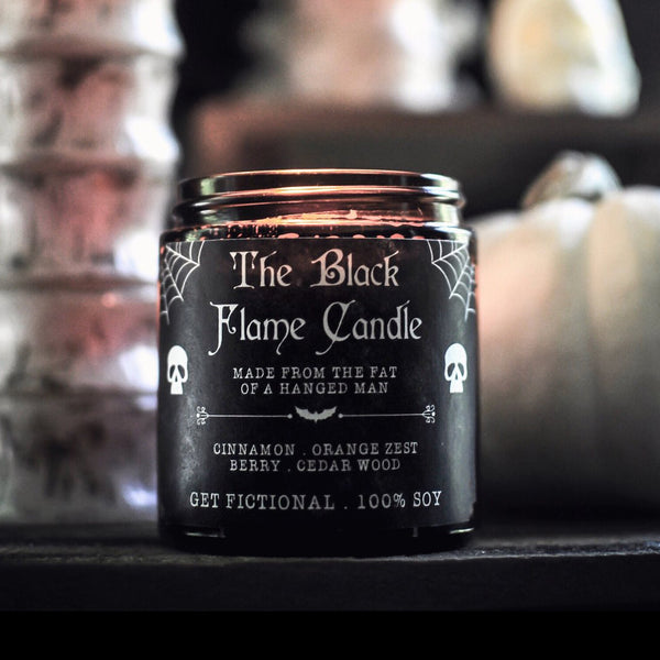 The Black Flame - Candle