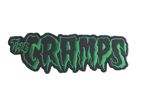 Cramps Logo Embroidered Patch