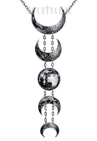 Lunar Silver Necklace