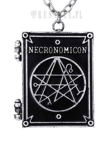 Necronomicon Locket Necklace