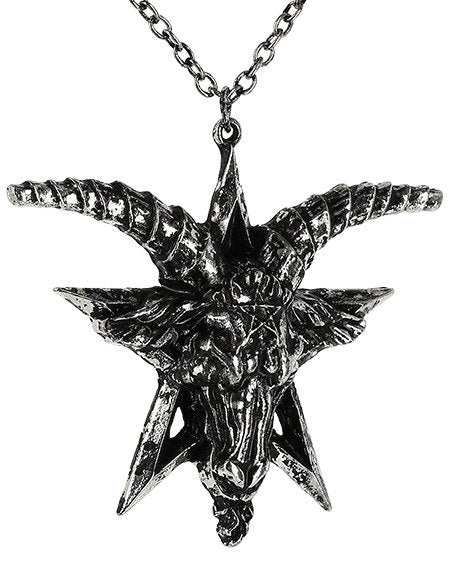 Baphomet Silver Necklace