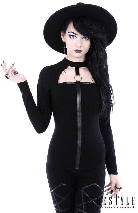 Scarlett Blouse Witchy Shirt With O-Ring
