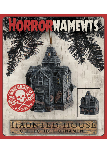 Haunted House Ornament: Michael Berryman Series