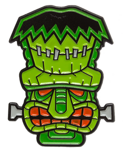 Tiki Monster Enamel Pin