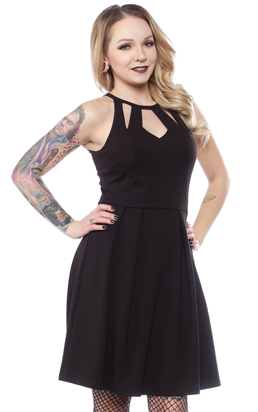 Little Black Diamond Dress