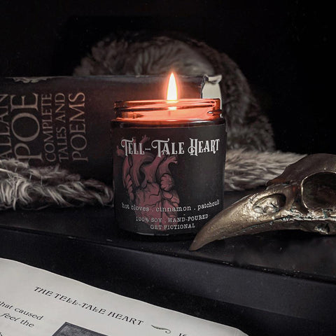 Tell-Tale Heart Candle