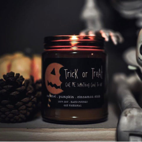 Trick Or Treat Candle