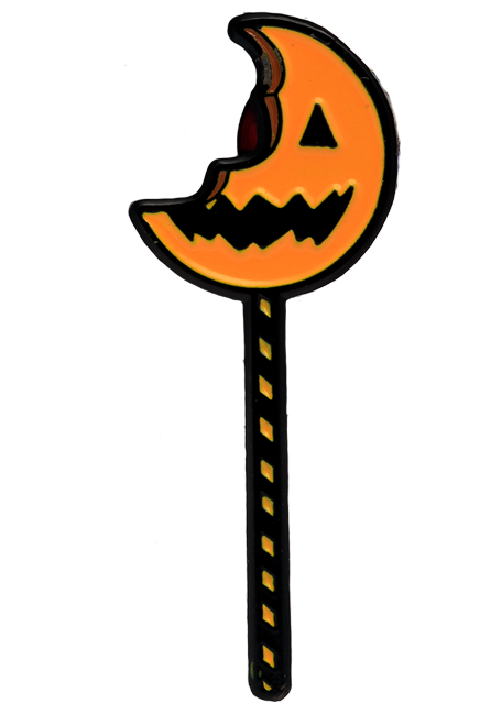 Trick r Treat Bitten Lollipop - Enamel Pin