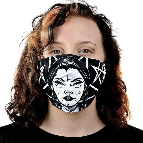 Wednesday Occult Mask