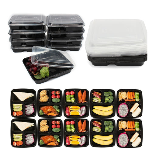 10 Pack Meal Prep Containers
