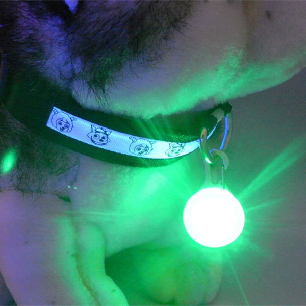 Safety Pendant with Night Light Collar Pedant Dog Accessories Pet Supplies