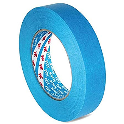 3M 3434 Blue Automotive Masking Tape 25mm x 50m