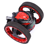 PEG SJ88 2.4G Remote Control Jumping Car 2 Second Rotation Bounce RC Toy - ziloqa