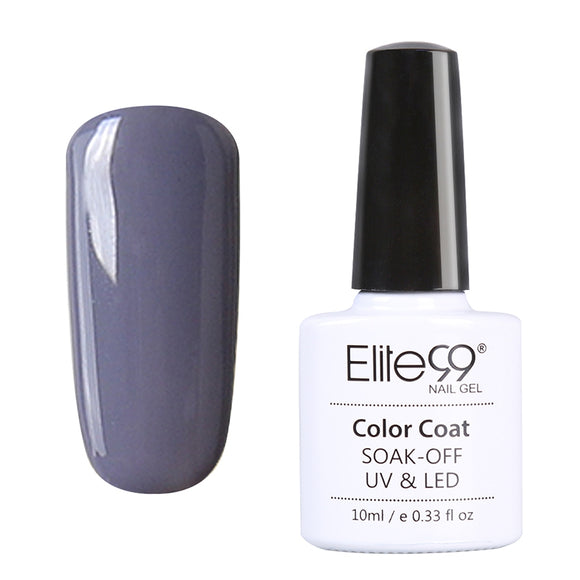 Elite99 10ml 12 Color Nail Polish UV Lamp Necessary Gelpolish - ziloqa