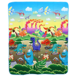 Baby Play Mat Floor Rug Soft Carpet Dinosaurs Paradise Foam Crawling Toy