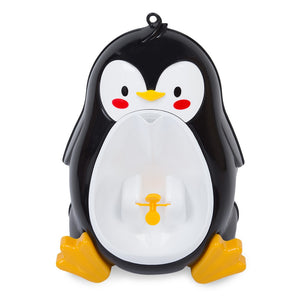 Separable Suspensible Lovely Penguin Shape Boys Standing Urinal - ziloqa