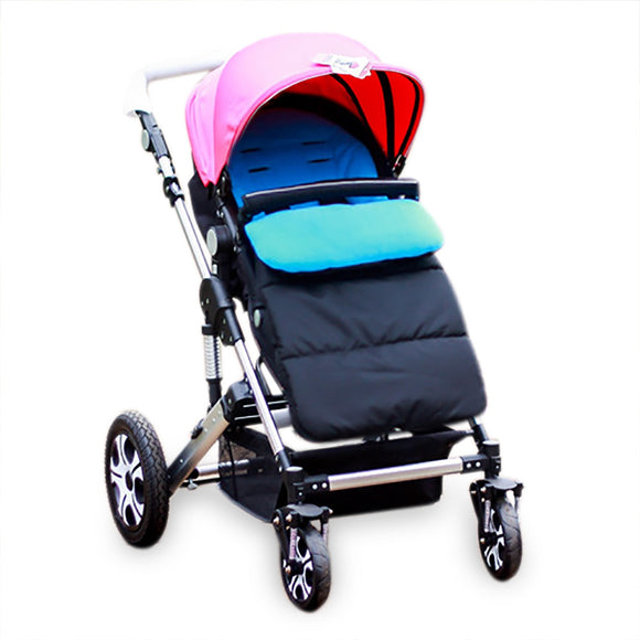 Windproof Babies Sleeping Bag Cold-proof Stroller Mat Foot Cover