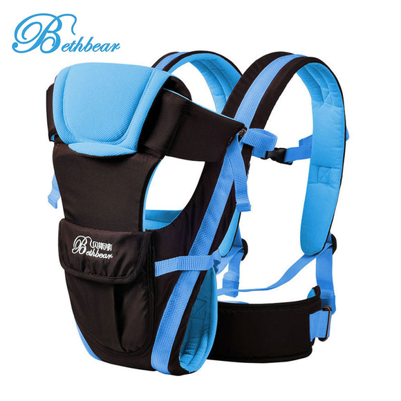 Bethbear Multipurpose Adjustable Buckle Mesh Wrap Baby Carrier Backpack