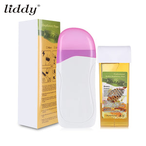 LIDDY 3 in 1 Depilatory Hair Removal Wax Machine Paper Strip - ziloqa
