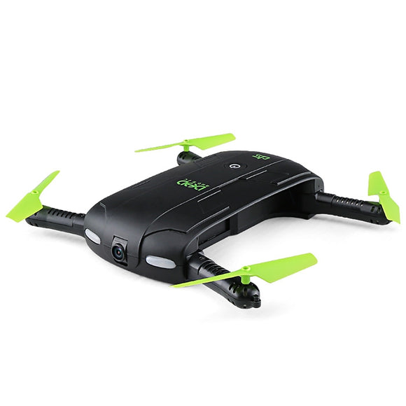 DHD D5 Mini Foldable RC Pocket Quadcopter BNF WiFi FPV 0.3MP Camera / G-sensor Mode / Waypoints - ziloqa