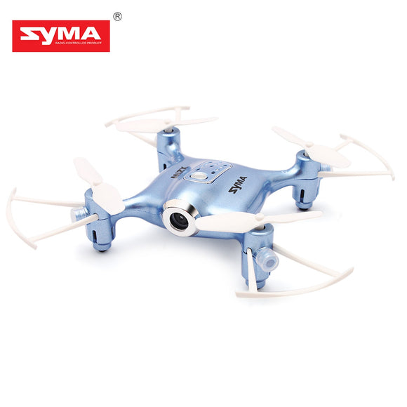 SYMA X21W Mini RC Quadcopter RTF WiFi FPV 0.3MP Camera / Altitude Hold / G-sensor Mode - ziloqa