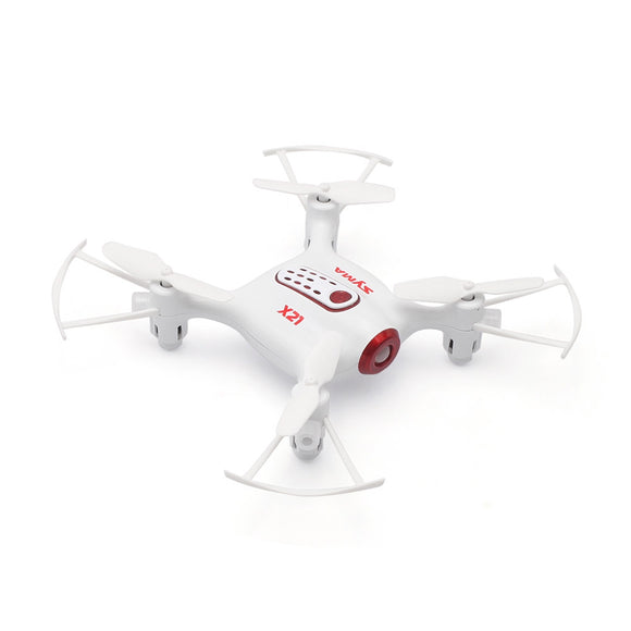 SYMA X21 Mini RC Drone RTF 2.4GHz 4CH 6-axis Gyro / Altitude Hold / 360-degree Rotation - ziloqa