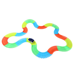 NO.298 220PCS Racing Car Glow Twister Racing Tracks - ziloqa