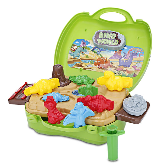 BOWA Kids Play Set Dough Suitcase Toy Potable in Carrying - ziloqa