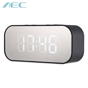 AEC BT501 Alarm Clock Wireless Bluetooth Speaker LED Display - ziloqa