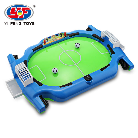 YI FENG TOYS Tabletop Shoot Mini Table Soccer Toys 2 Players for Kids 3+ - ziloqa