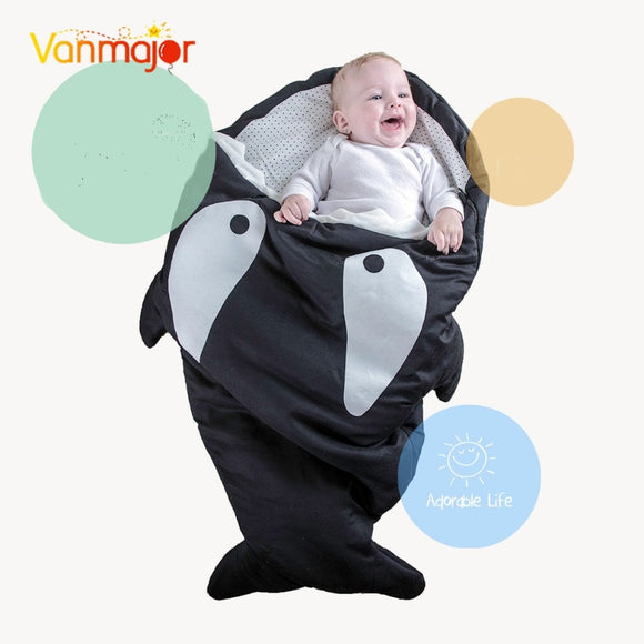 Baby Shark Sleeping Bag Birthday Gifts for Kids and Babies Colorful Sleeping Bag Easter - ziloqa
