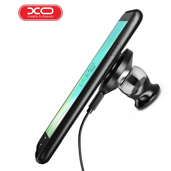 XO Fast Charging Car Holder Magnetic phone case charger Wireless Charger for iPhone 7 Plus Wireless Magnetic Charging Phone 7 p