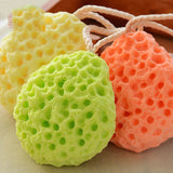 Honeycomb Shape Newborn Baby Kids Bath Sponge Brushes Massage Baby Shower Exfoliating Body Face Cleaning Scrubber Newest
