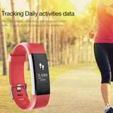 HR Plus Smart Bracelet Fitness and Sleep Tracker Pedometer Heart Rate Monitor Smart band Wristband