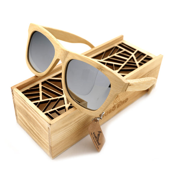 Wooden Bamboo Sunglasses Polarized UV400