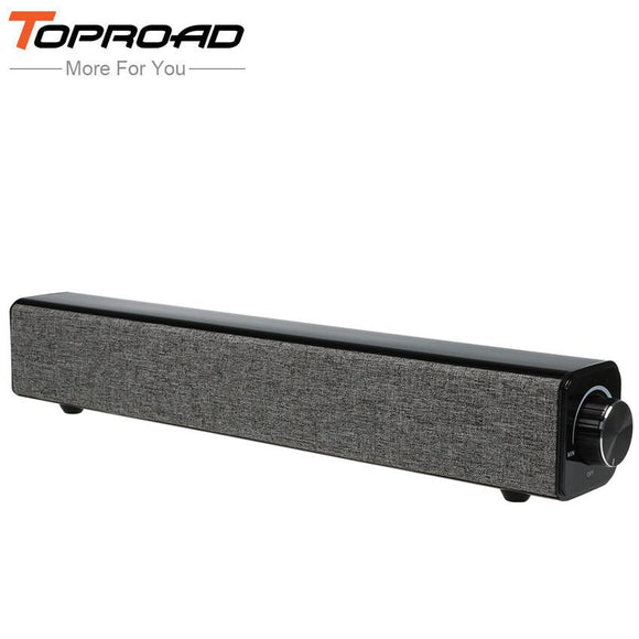 TOPROAD 20W HIFI Wireless Bluetooth Speaker Receiver Loud Sound Boombox