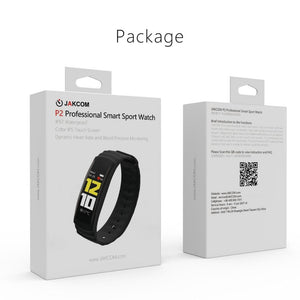 JAKCOM P2 Professional Smart Sport Watch Hot sale in Smart watches as Smart Trackers Touch Screen heart Rate Waterproof Band - ziloqa