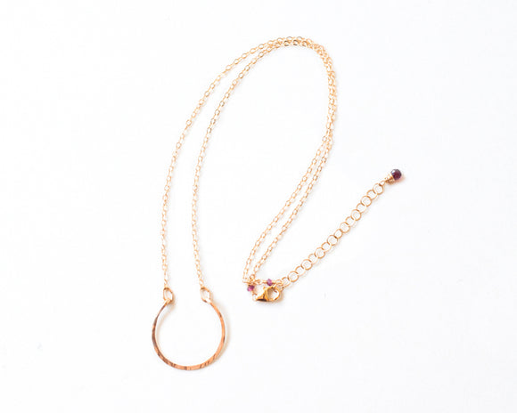 Hanna Half Moon Necklace