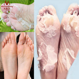 Ziloqa Remove Dead Skin - Exfoliating Foot Mask - Ginger and Lavender Nourished Caring - Foot Care Mask Peeling Cuticles - Heel Feet Care Cream