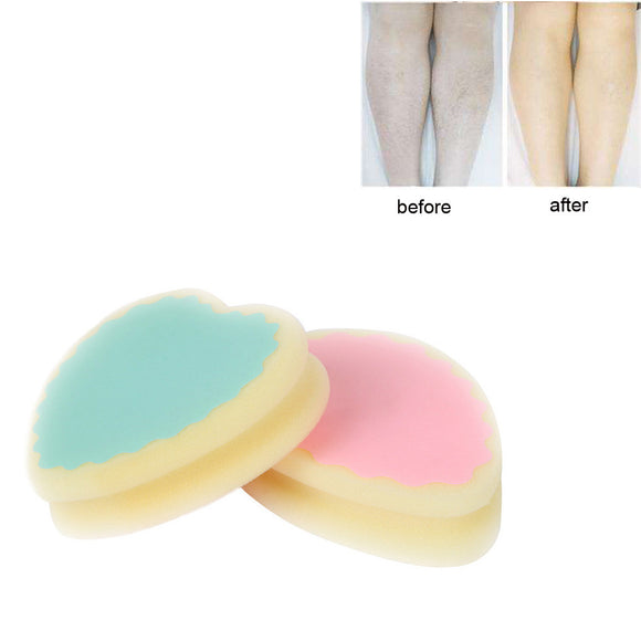Ziloqa Magic Painless Hair Removal Depilation Sponge Pad Remove Hair Remover Effective - ziloqa