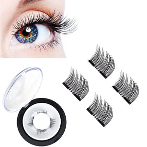 Magnetic Eye Lashes - 3D  Reusable False Magnet - NEW Ultra-thin 0.2mm