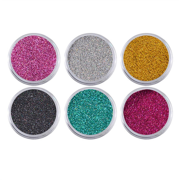 ZILOQA Nail Glitter Powder - Nail Polish Jewelry Colorful - Mixed Nail Fine Powder Sequins - ziloqa