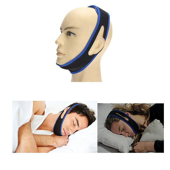 Ziloqa Anti Soring Chin Strap Adjustable Natural and Instant Snore Relief Stop Snore Better Sleep Devices