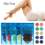 No Strip Ziloqa Depilatory Hot Film Hard Wax Pellet Waxing Bikini Hair Removal Bean - 8 Colours Available